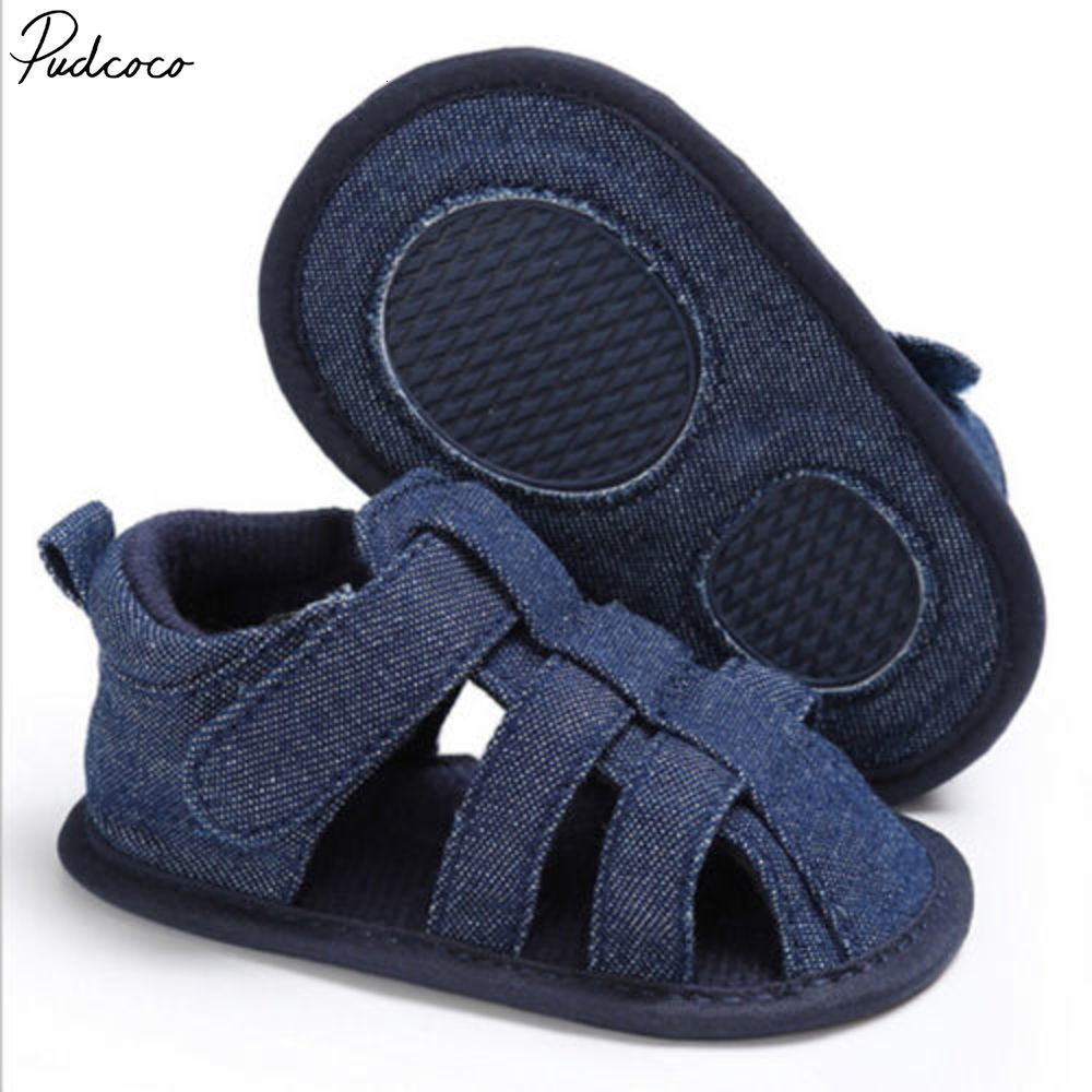 Lovely Infant Toddler Kids Baby Boy Girl Unisex Shoes Summer Soft Sole Crib Cow Muscle Outsole Sandals 0-18months Pudcoco