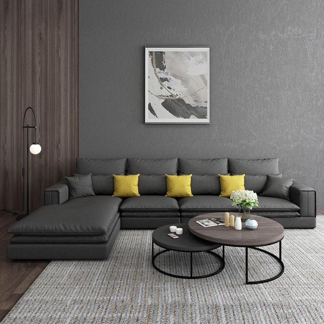 Modern Living Room Sofa L Shaped 3