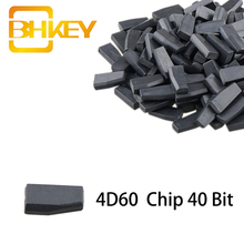 цена на BHKEY For Ford 4D60 ID60 Chip 40 Bit1 PCS Carbon Blank Chip For Ford Fiesta Connect Focus Mondeo Ka Transponder Chip ID 60