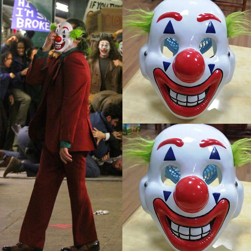 Child Plastic Joker Mask