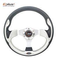 EPLUS Car Sport Steering Wheel Racing Type High Quality Universal 13 Inches 320MM Aluminum PU 4Color Modified Auto Styling
