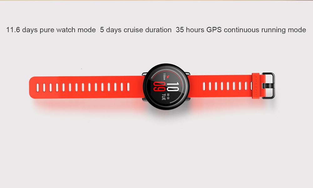 HUAMI AMAZFIT PACE SMART WATCH GPS SMARTWATCH  WEARABLE DEVICES SMART WATCHES ELECTRONICS FOR XIAOMI PHONE IOS 19
