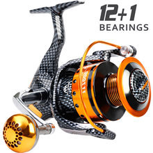 Sougayilang 1000-7000 Serie Carp Fishing Reel Spinning Reels Süßwasser Salzwasser für Karpfen Meer Angeln Reel Fishing Tackle(China)