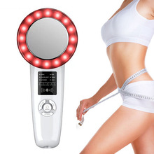 6 In1 Ultrasound Cavitation EMS Body Slimming Massager Weight Loss Lipo Anti Cellulite Fat Burner Galvanic Infrared Therapy Tool ultrasound cavitation ems body slimming weight loss anti cellulite massager fat burner galvanic infrared ultrasonic therapy tool