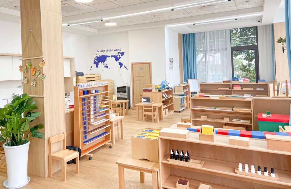 Paquete de materiales Montessori para CASA de clase Nido IC, compra a granel
