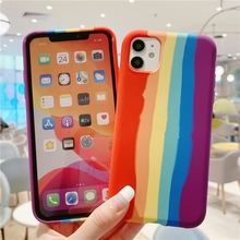 Rainbow Gradient Phone Case for iPhone 1