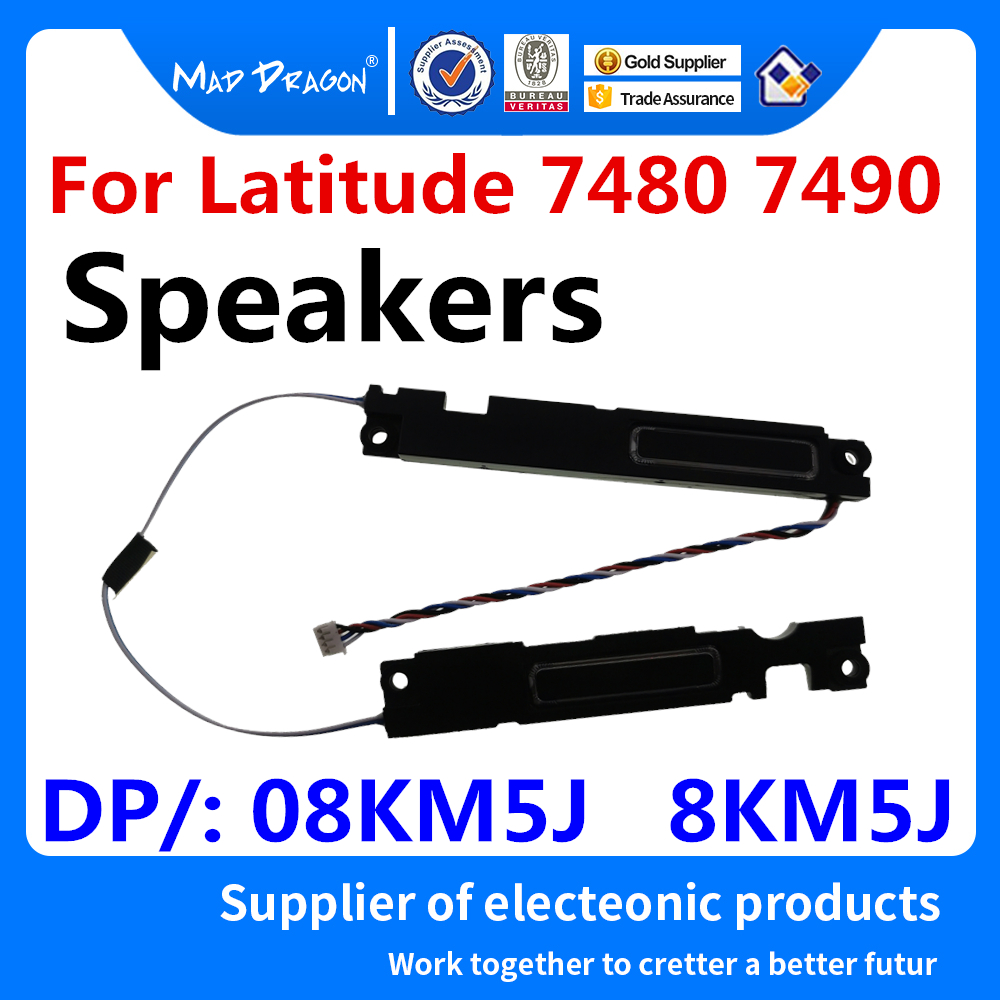 new Original Laptop speakers Left Right Replacement Speakers For <font><b>Dell</b></font> Latitude 7480 <font><b>7490</b></font> E7480 E7490 speakers 8KM5J 08KM5J image