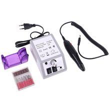 Taladro eléctrico de lima de uñas profesional, herramienta de manicura y pedicura