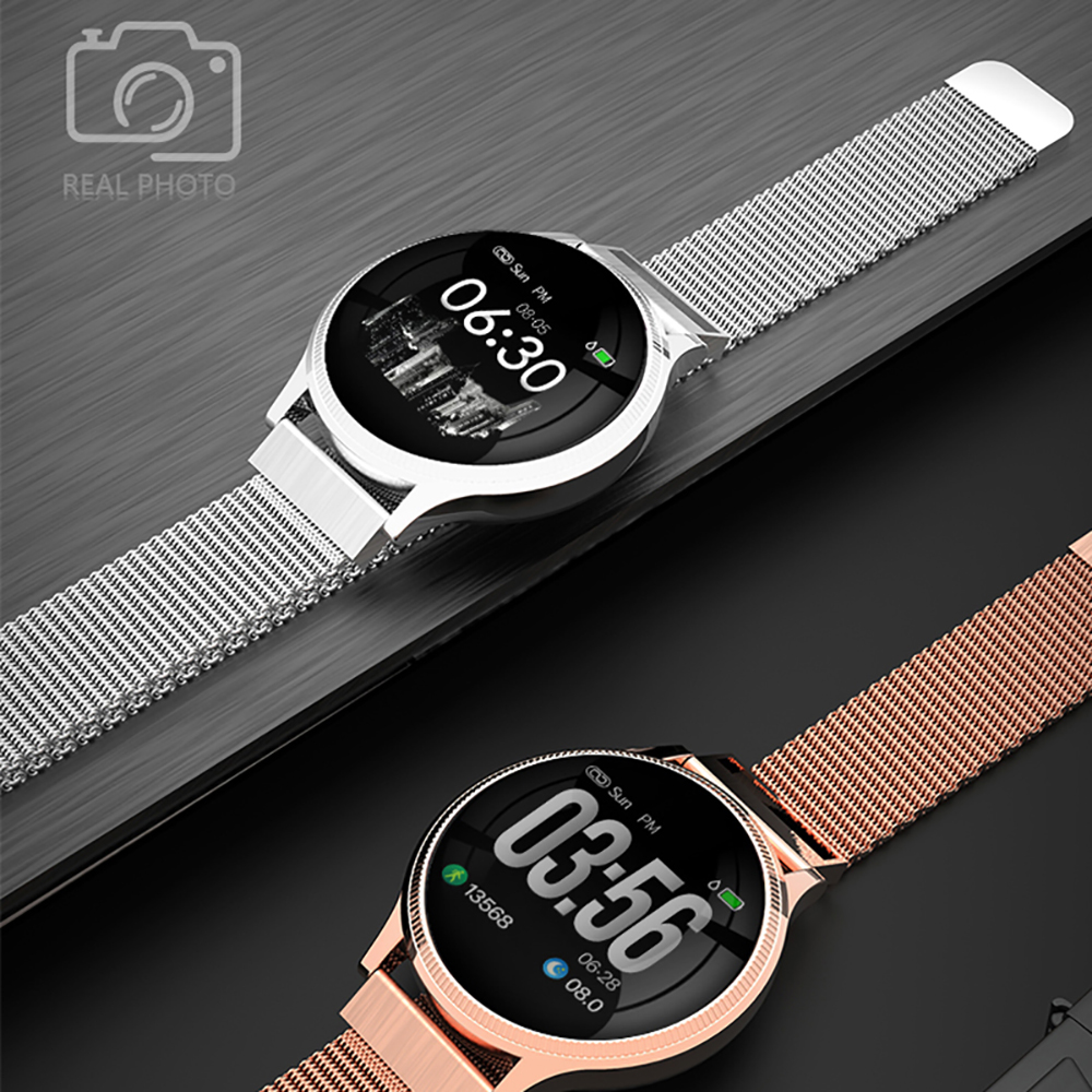 Sports Health Smart Watch 1.22 inch Magnetic Strap Fitness Tracker IP67 Waterproof Heart Rate Monitor Smartwatch for IOS Android (5)