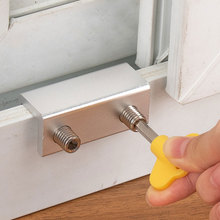 Shade-Stopper Anti-Theft-Lock Window-Locks Stainless-Steel Plastic Safety Aluminum-Alloy