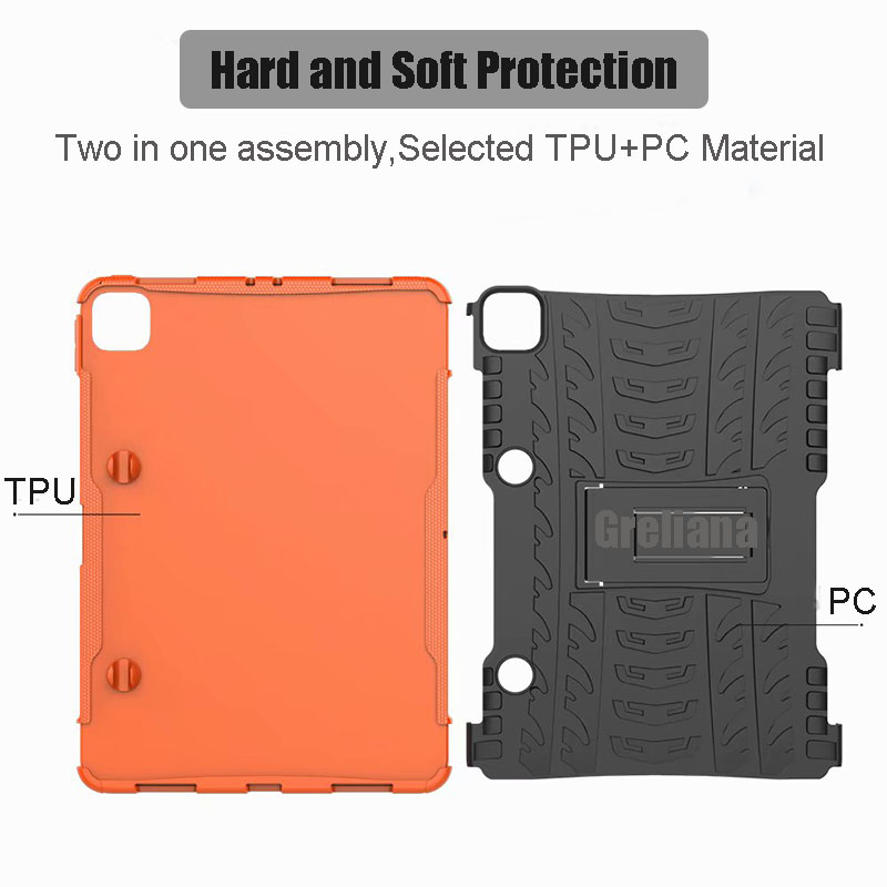 Case Holder Stand Cover Pencil Flip For 11 2020 Case With Armor New iPad Shockproof Pro