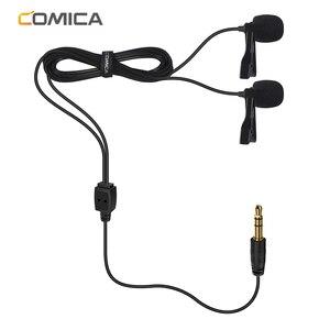Image 3 - Micrófono condensador CoMica CVM D02 Lavalier 2,5 M 4,5 m 6,0 m micrófono Mic para Sony Canon Nikon Cámara teléfono gopro Studio