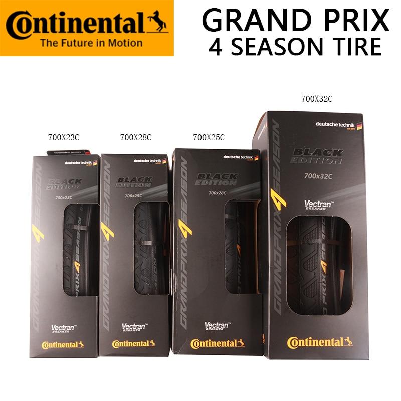 700c Continental Grand Prix 4 Seasons Road Bike Folding Boxed Tyre 28c