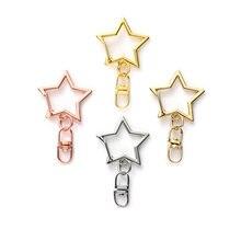 Брелок для ключей «сделай сам» застежка карабин в форме звезды