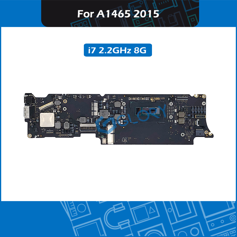 Laptop <font><b>A1465</b></font> Logic board 820-00164-A i7 2.2GHz 8GB For Macbook Air 11