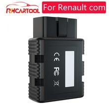 Novo para renault com bluetooth ferramenta de diagnóstico do carro para renault com diagnóstico & chave programa leitor de código para r-enault pode clipe