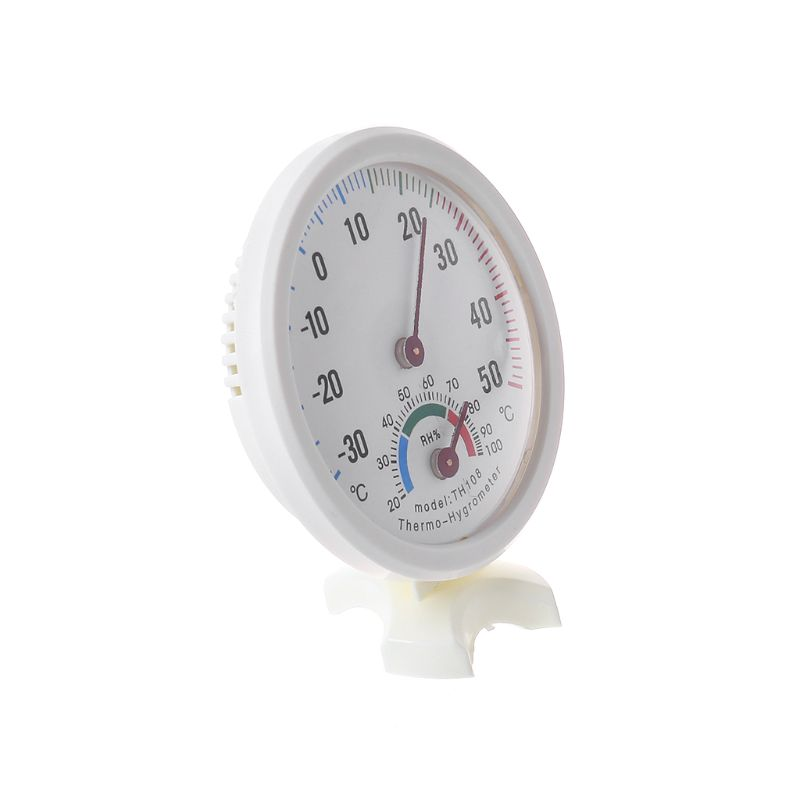 High Quality Indoor Outdoor Thermometer Hygrometer Temperature New