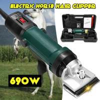 Efficient 690W 220V 6 Gears Speed Electric Sheep Goat Horse Shearing Machine Clipper Farm Shears Cutter Wool scissor Cut Machine