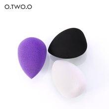 O. tw o.o esponja de maquiagem para base, esponja aquática macia para esfumar cosméticos