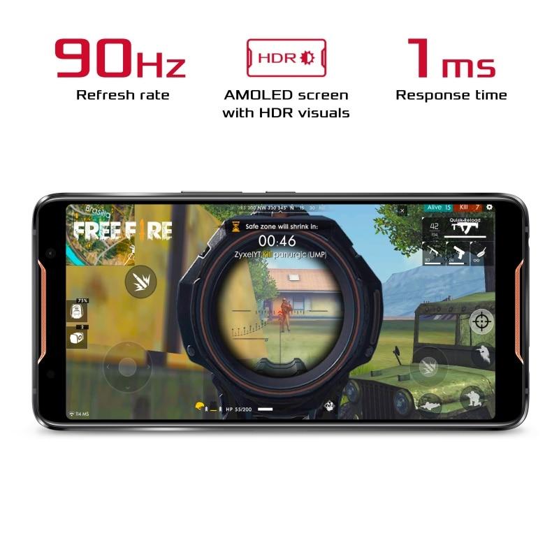 Global Version ASUS ROG Phone ZS600KL Smartphone 8GB RAM 128/512 ROM Snapdragon? 845 �Adreno? 630 NFC Android 8.1 OTA Update