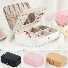 Portable Jewelry Holder Storage Case