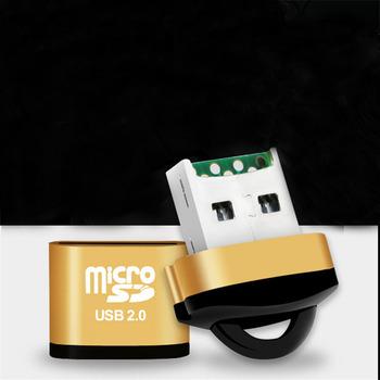 Szybki czytnik kart USB2 0 mini USB adapter karty tf na karta pamięci micro sd na komputer stancjonarny notebooki na komputery stacjonarne tanie i dobre opinie Pojedyncze Zewnętrzny Karta sd SXN472