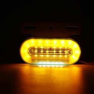 Image 3 - 10 sztuk 12V 24V LED samochodów ciężarówka boczne światła sygnalizacyjne lampy zewnętrzne wskaźnik sygnału lampa ostrzeżenie ogon światło przyczepa ciężarówka autobus łódź