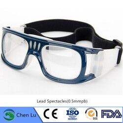 Consiglierei di X-Ray Protezione 0.5 Mmpb Tipo di Sport Piombo Occhiali Nucleare di Protezione Dalle Radiazioni Occhiali Piombo