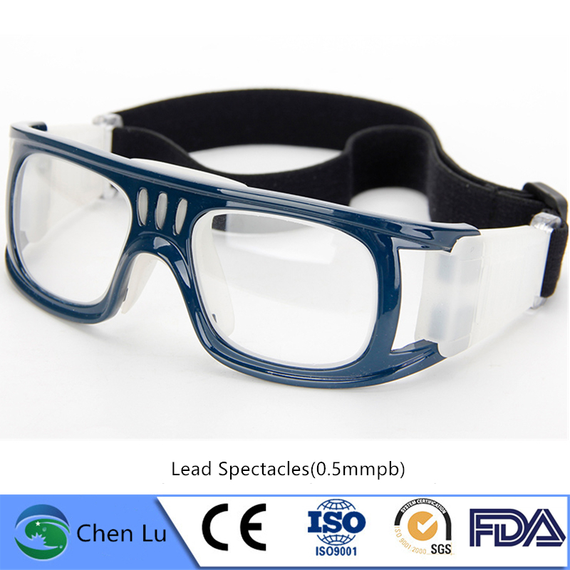 Recomend X-ray Protective 0.5mmpb Sports Type Lead Spectacles Nuclear Radiation Protective Lead Glasses