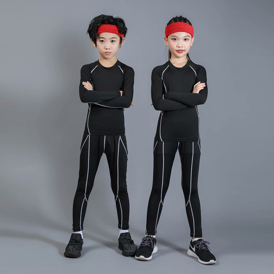 Kids Sports Sets Boys Ski Thermal Underwear Suits Sets Kids Boys Girls Underwears Hot Term Quick Dry Long Johns