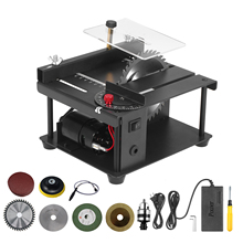Saw-Cutter Table-Saw Electric-Cutting-Machine Multi-Functional Mini Desktop with Grinding-Wheel