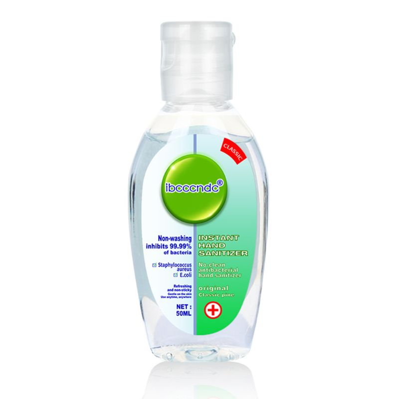 50ml Travel Portable Mini Hand Sanitizer Anti-Bacteria Moisturizing Fruit-Scente Hand Soap X7YB
