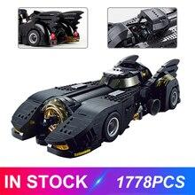 Decool 7144 El último Batmobile Compatible Moive Moc-15506 bloques de Bulding juguetes educativos regalos de cumpleaños para niños