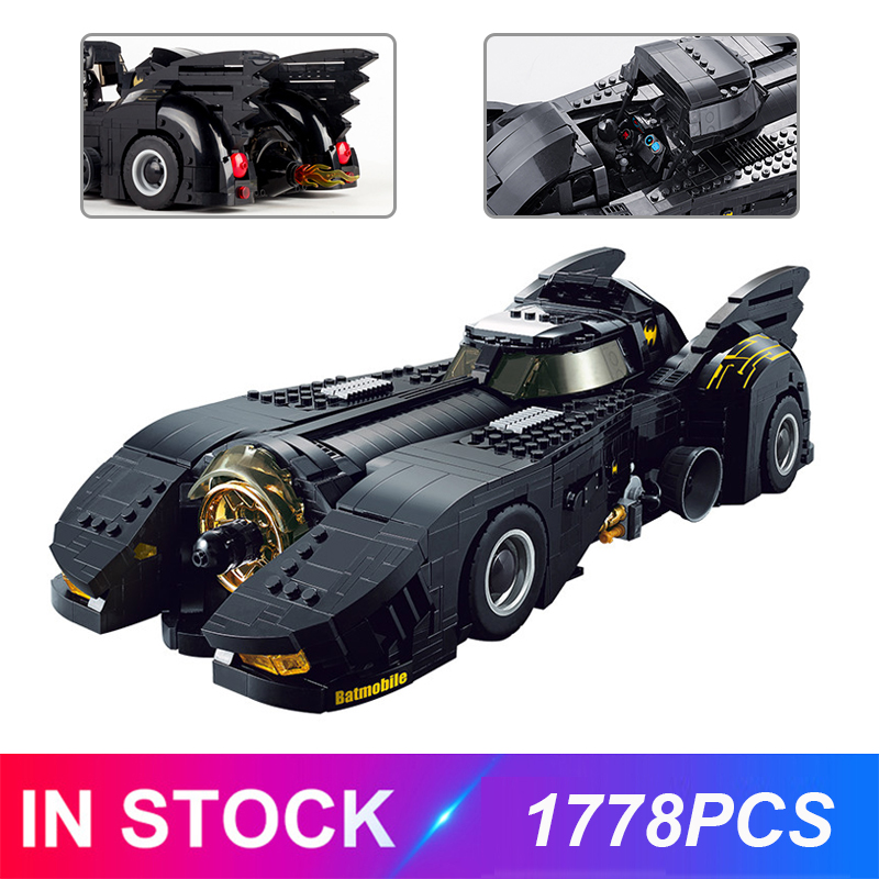 Decool 7144 The Ultimate Batmobile Compatible Moive Moc-15506 Bulding Blocks Bricks Educational Toys Birthdays Gifts For Child
