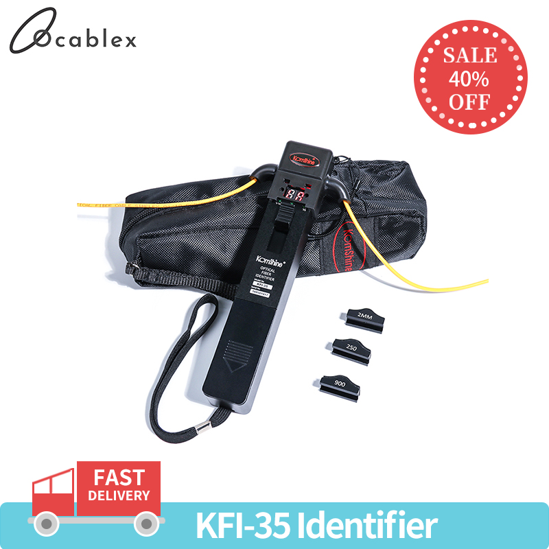 Promotion Live Fiber Identifier KomShine KFI-35 Optical Fiber Identifier With ONE KEY Operation Equal To NOYES OFI400C