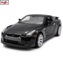 цена на Maisto 1:24 2009 Nissan GTR3 simulation alloy car model crafts decoration collection toy tools gift