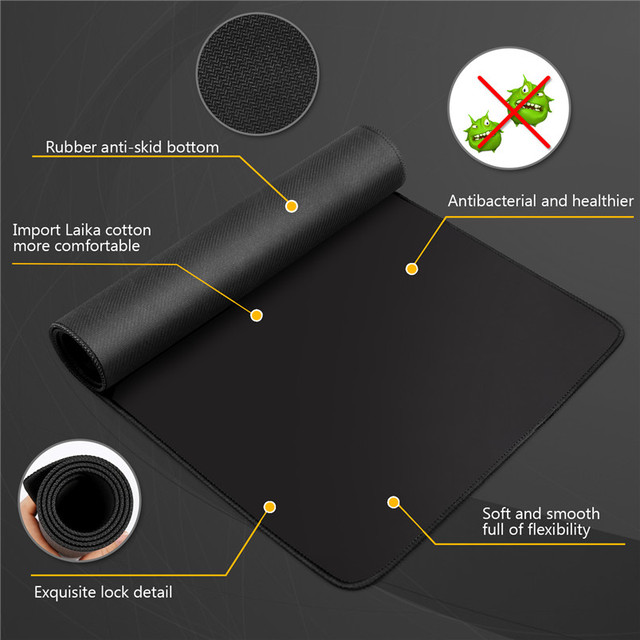 Computer Mouse Pad Gaming MousePad Large Mouse pad Gamer XXL Mause Carpet PC Desk Mat keyboard pad 3