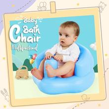 Bath-Stool Chair Inflatable-Sofa Baby Portable Children for Boy Girls Multifunctional