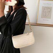 Sacs à main en cuir PU pour femmes, élégants, couleur unie, sacs à bandoulière simples, sacoche à épaule, violet, 2020