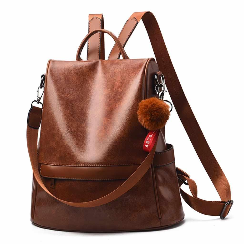 OCARDIAN Rucksäcke Damen Hairball Patchwork Schule reise Rucksäcke für Teenager Weibliche Schule Schulter Tasche Bagpack mochila N22
