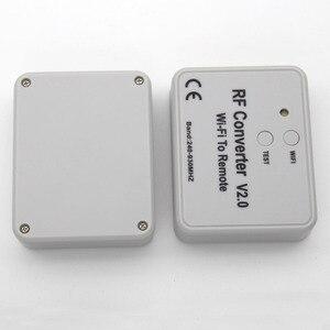 Image 5 - محول واي فاي عالمي للتحكم عن بعد 330 433 868MHz أندرويد IOS RF واي فاي للتحكم عن بعد واي فاي لتحويل RF عن بعد 240 ~ 930MH