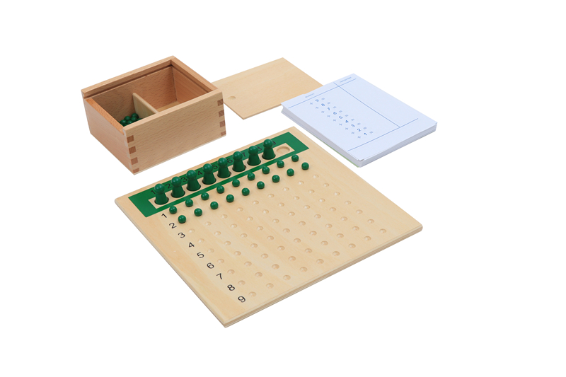 Division Bead Board And Division Tables Montessori Mathematics Materials For Arithmetic Learning Preschool Early Education Toys
