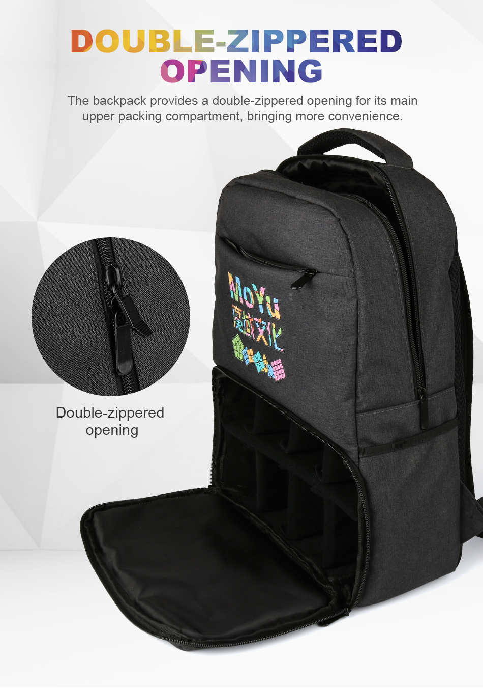 Moyu backpack for cube 10