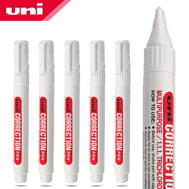 5 Pcs/Lot UNI CLP-80 1.0mm Correction Pen 8 Ml  Fluid  Supplies