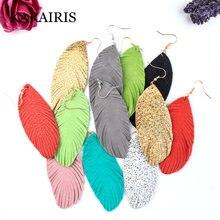 Karairis 2020 модные ювелирные изделия серьги из натуральной