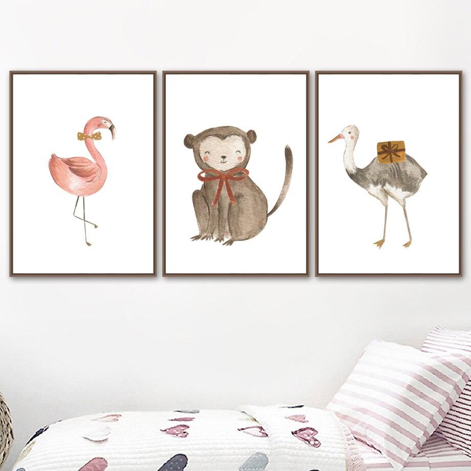 Mini Poster Ostrich 40 x 60cm