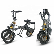 цена на Hot sale 3 wheel folding electric scooter with CE certificate