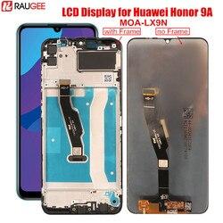 Wyświetlacz dla Huawei Honor 9A ekran dotykowy LCD MOA-LX9N ekran Digitizer wymiana ekranu dla Honor 9a 9 a 6.3 'ekran LCD