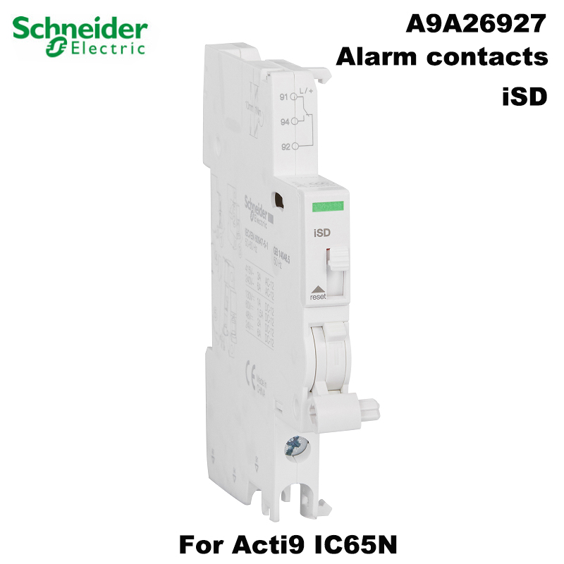 Schneider Electric iSD alarm contact for Acti9 IC65 circuit breaker A9A26927 auxiliary accessories original export