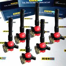Bobinas de bobina de encendido aptas para BMW M52 E46 E39 X5 E36 325 330i 328 525i 530i 528i M3 3.2L 2,5 2,8 2.3L 3,0 L6 12131404309 12131703227
